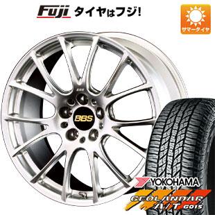 タイヤはフジ 送料無料 BBS JAPAN BBS RE-V 7.5J 7.50-18 YOKOHAMA ジオランダー A/T G015 RBL 225/55R18 18インチ サマータイヤ ホイール4本セット
