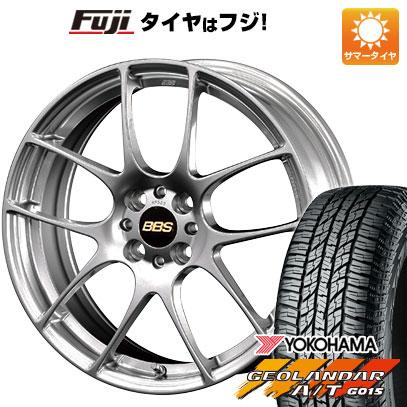 タイヤはフジ 送料無料 BBS JAPAN BBS RF 7J 7.00-17 YOKOHAMA ジオランダー A/T G015 RBL 225/65R17 17インチ サマータイヤ ホイール4本セット