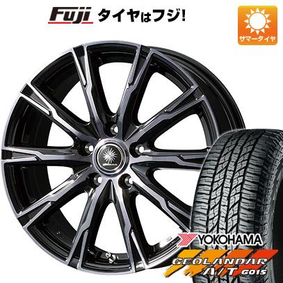 タイヤはフジ 送料無料 TOPY トピー ディルーチェ DX10 6.5J 6.50-16 YOKOHAMA ジオランダー A/T G015 RBL 215/70R16 16インチ サマータイヤ ホイール4本セット