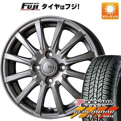 タイヤはフジ 送料無料 TOPY トピー シビラ NEXT B-12 4.5J 4.50-15 YOKOHAMA ジオランダー A/T G015 RBL(限定) 165/60R15 15インチ サマータイヤ ホイール4本セット