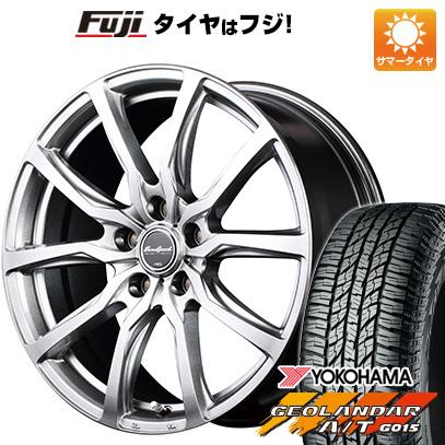 タイヤはフジ 送料無料 MID ユーロスピード G52 6.5J 6.50-16 YOKOHAMA ジオランダー A/T G015 RBL 215/70R16 16インチ サマータイヤ ホイール4本セット