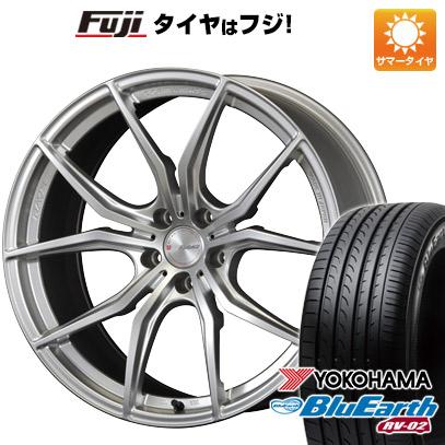 タイヤはフジ 送料無料 RAYS レイズ グラムライツ 57FXX 8J 8.00-19 YOKOHAMA ブルーアース RV-02 225/40R19 19インチ サマータイヤ ホイール4本セット