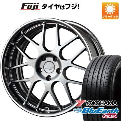 タイヤはフジ 送料無料 SSR エグゼキューター EX02 8.5J 8.50-20 YOKOHAMA ブルーアース RV-02 245/40R20 20インチ サマータイヤ ホイール4本セット