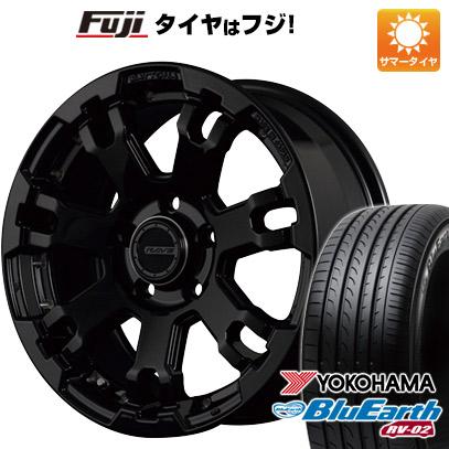 タイヤはフジ 送料無料 RAYS レイズ デイトナ FDX F7 7J 7.00-17 YOKOHAMA ブルーアース RV-02 225/65R17 17インチ サマータイヤ ホイール4本セット