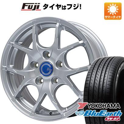 タイヤはフジ 送料無料 BRANDLE ブランドル M69 7.5J 7.50-18 YOKOHAMA ブルーアース RV-02 235/50R18 18インチ サマータイヤ ホイール4本セット
