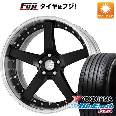 タイヤはフジ 送料無料 WORK ワーク グノーシスGR 203 8.5J 8.50-20 YOKOHAMA ブルーアース RV-02 245/40R20 20インチ サマータイヤ ホイール4本セット