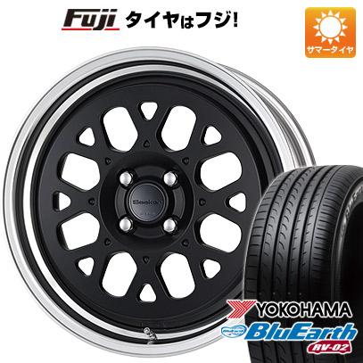 タイヤはフジ 送料無料 WORK ワーク シーカー GX 7J 7.00-17 YOKOHAMA ブルーアース RV-02 215/60R17 17インチ サマータイヤ ホイール4本セット