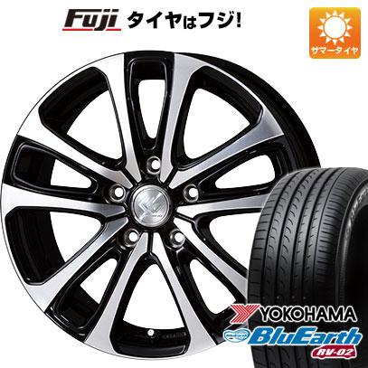 タイヤはフジ 送料無料 TOPY トピー セレブロ LF5 7J 7.00-17 YOKOHAMA ブルーアース RV-02 205/55R17 17インチ サマータイヤ ホイール4本セット