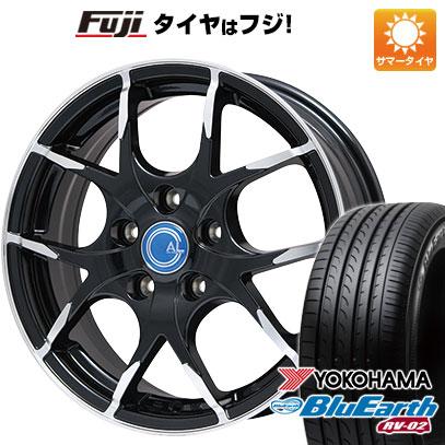 タイヤはフジ 送料無料 BRANDLE ブランドル M69B 7.5J 7.50-18 YOKOHAMA ブルーアース RV-02 225/50R18 18インチ サマータイヤ ホイール4本セット