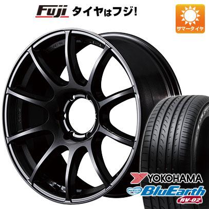 タイヤはフジ 送料無料 ハイエース200系 RAYS レイズ グラムライツ 57トランスエックス 8J 8.00-18 YOKOHAMA ブルーアース RV-02 225/50R18 18インチ サマータイヤ ホイール4本セット