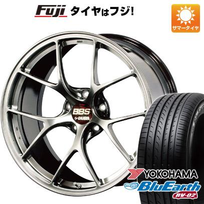 タイヤはフジ 送料無料 BBS JAPAN BBS RI-D 8.5J 8.50-19 YOKOHAMA ブルーアース RV-02 245/45R19 19インチ サマータイヤ ホイール4本セット