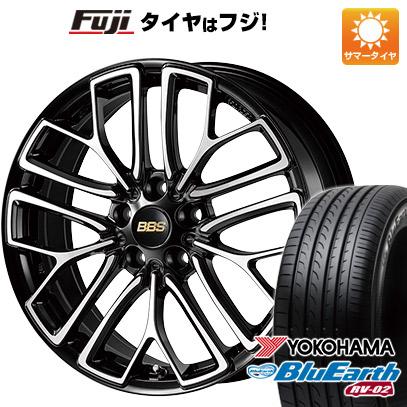 タイヤはフジ 送料無料 BBS JAPAN BBS RE-X 8.5J 8.50-18 YOKOHAMA ブルーアース RV-02 235/50R18 18インチ サマータイヤ ホイール4本セット