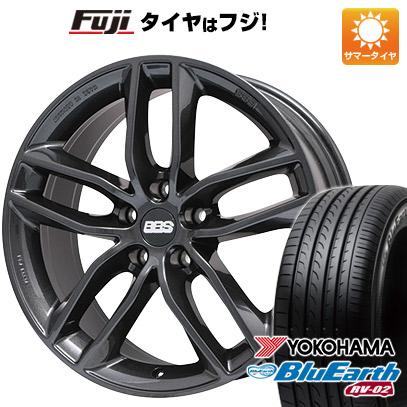 タイヤはフジ 送料無料 BBS GERMANY BBS SX 7.5J 7.50-17 YOKOHAMA ブルーアース RV-02 215/50R17 17インチ サマータイヤ ホイール4本セット