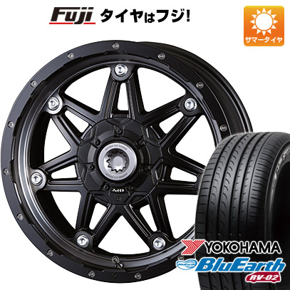 タイヤはフジ 送料無料 ハイエース200系 CRIMSON クリムソン マーテルギア(MG) ライカン 8J 8.00-18 YOKOHAMA ブルーアース RV-02 225/50R18 18インチ サマータイヤ ホイール4本セット