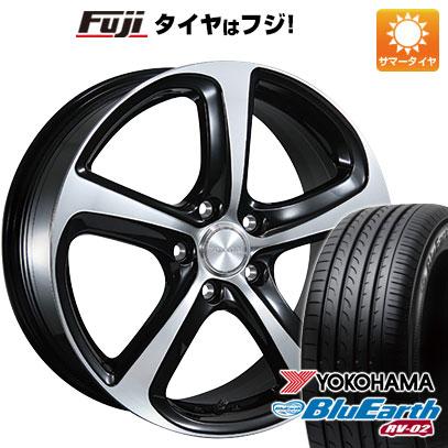 タイヤはフジ 送料無料 BRIDGESTONE ブリヂストン バルミナ Z5 6.5J 6.50-16 YOKOHAMA ブルーアース RV-02 195/60R16 16インチ サマータイヤ ホイール4本セット