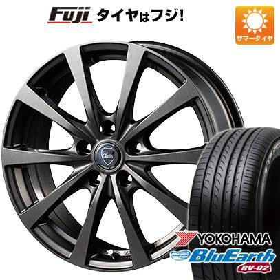 タイヤはフジ 送料無料 INTER MILANO インターミラノ クレール RG10 6.5J 6.50-16 YOKOHAMA ブルーアース RV-02 205/60R16 16インチ サマータイヤ ホイール4本セット