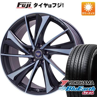 タイヤはフジ 送料無料 TOPY トピー ドルフレン ヴァルネ Limited 8J 8.00-19 YOKOHAMA ブルーアース RV-02 225/45R19 19インチ サマータイヤ ホイール4本セット