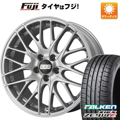 格安即決 タイヤはフジ 送料無料 BBS GERMANY BBS CS 7.5J 7.50-18 FALKEN ジークス ZE914F 225/50R18 18インチ サマータイヤ ホイール4本セット, TASUKARU 0cc26113