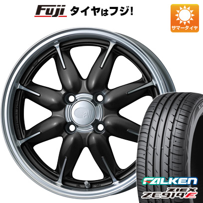 タイヤはフジ 送料無料 ENKEI エンケイ allシリーズ オールワン 6J 6.00-15 FALKEN ジークス ZE914F 185/65R15 15インチ サマータイヤ ホイール4本セット