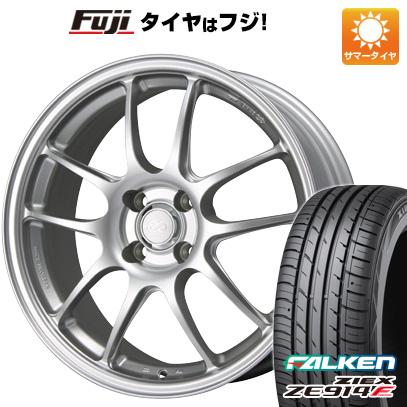 タイヤはフジ 送料無料 ENKEI エンケイ PF01 6.5J 6.50-15 FALKEN ジークス ZE914F 175/65R15 15インチ サマータイヤ ホイール4本セット