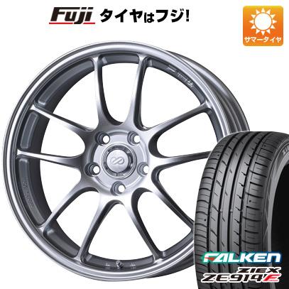 タイヤはフジ 送料無料 ENKEI エンケイ PF01 F:8.50-18 R:9.50-18 FALKEN ジークス ZE914F F:225/40R18 R:255/35R18 サマータイヤ ホイール4本セット