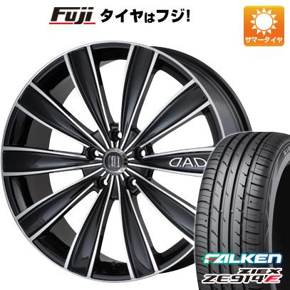 タイヤはフジ 送料無料 GARSON ギャルソン グレイブ 7.5J 7.50-18 FALKEN ジークス ZE914F 225/40R18 18インチ サマータイヤ ホイール4本セット
