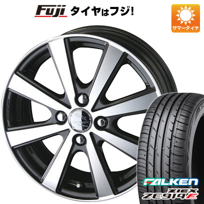 タイヤはフジ 送料無料 S660用 KYOHO 共豊 スマック VI-R F:4.50-15 R:6.00-16 FALKEN ジークス ZE914F F:165/55R15 R:195/45R16 サマータイヤ ホイール4本セット