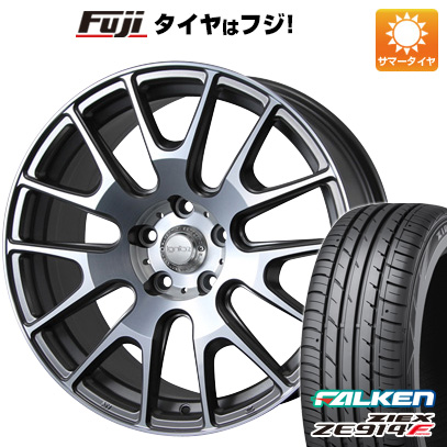 タイヤはフジ 送料無料 MLJ イグナイト エクストラック 7.5J 7.50-18 FALKEN ジークス ZE914F 225/45R18 18インチ サマータイヤ ホイール4本セット