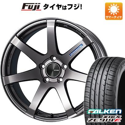 タイヤはフジ 送料無料 ENKEI エンケイ PF07 F:8.50-18 R:9.50-18 FALKEN ジークス ZE914F F:225/40R18 R:255/35R18 サマータイヤ ホイール4本セット