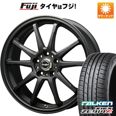 タイヤはフジ 送料無料 BLEST ブレスト ユーロスポーツ タイプSS-01 8J 8.00-18 FALKEN ジークス ZE914F 235/40R18 18インチ サマータイヤ ホイール4本セット