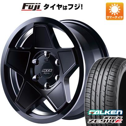タイヤはフジ 送料無料 ハイエース200系 M-TECHNO エムテクノ M.T.S. S-インパクト 8J 8.00-18 FALKEN ジークス ZE914F 225/50R18 18インチ サマータイヤ ホイール4本セット