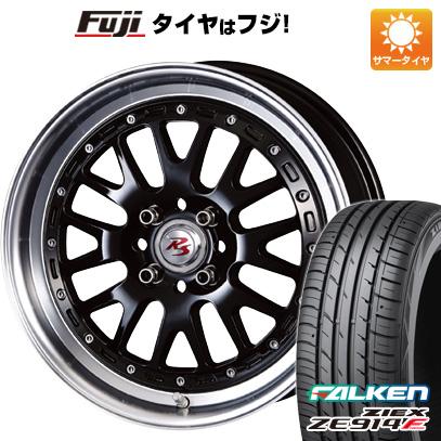 タイヤはフジ 送料無料 CRIMSON クリムソン RS WP MAXIモノブロック 5.5J 5.50-16 FALKEN ジークス ZE914F 165/45R16 16インチ サマータイヤ ホイール4本セット