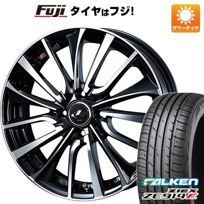 タイヤはフジ 送料無料 WEDS ウェッズ レオニス VT 5J 5.00-16 FALKEN ジークス ZE914F 165/45R16 16インチ サマータイヤ ホイール4本セット