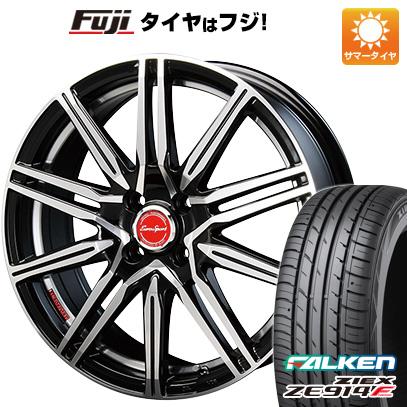 タイヤはフジ 送料無料 S660用 BLEST ブレスト ユーロスポーツ タイプレグルス A1 F:5.00-15 R:6.00-16 FALKEN ジークス ZE914F F:165/55R15 R:195/45R16 サマータイヤ ホイール4本セット