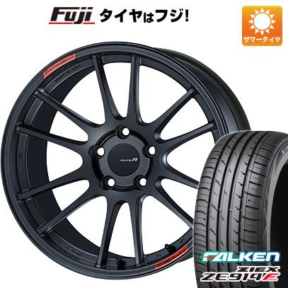 8月 2・5・8日はポイント倍増! タイヤはフジ 送料無料 ENKEI エンケイ GTC01 RR 8.5J 8.50-18 FALKEN ジークス ZE914F 235/40R18 18インチ サマータイヤ ホイール4本セット