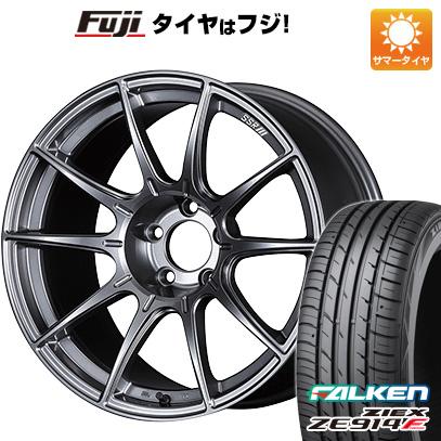 タイヤはフジ 送料無料 SSR GTX01 6J 6.00-15 FALKEN ジークス ZE914F 185/65R15 15インチ サマータイヤ ホイール4本セット