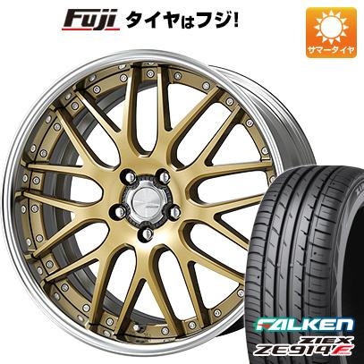 タイヤはフジ 送料無料 WORK ワーク ランベック LM1 7.5J 7.50-18 FALKEN ジークス ZE914F 235/50R18 18インチ サマータイヤ ホイール4本セット
