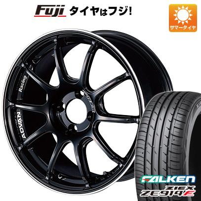 タイヤはフジ 送料無料 YOKOHAMA ヨコハマ アドバンレーシング RZII 6.5J 6.50-16 FALKEN ジークス ZE914F 195/45R16 16インチ サマータイヤ ホイール4本セット