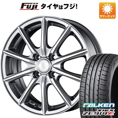 タイヤはフジ 送料無料 BRIDGESTONE ブリヂストン エコフォルム CRS/15 5.5J 5.50-15 FALKEN ジークス ZE914F 185/65R15 15インチ サマータイヤ ホイール4本セット