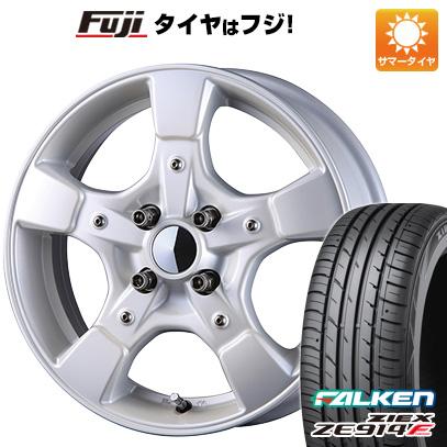 タイヤはフジ 送料無料 CRIMSON クリムソン グーフィー スプリッター 6J 6.00-15 FALKEN ジークス ZE914F 175/65R15 15インチ サマータイヤ ホイール4本セット