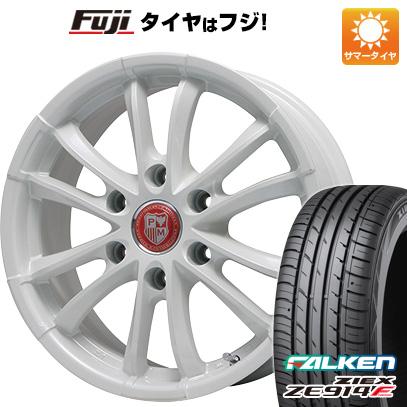 タイヤはフジ 送料無料 NV350キャラバン PREMIX プレミックス シャンクス(ホワイト) 7.5J 7.50-18 FALKEN ジークス ZE914F 225/50R18 18インチ サマータイヤ ホイール4本セット