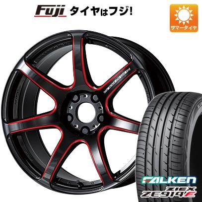 タイヤはフジ 送料無料 WORK ワーク エモーション T7R 5.5J 5.50-16 FALKEN ジークス ZE914F 165/45R16 16インチ サマータイヤ ホイール4本セット