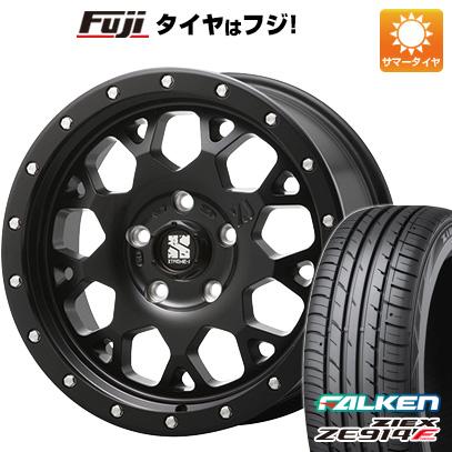 タイヤはフジ 送料無料 MLJ エクストリームJ XJ04 4.5J 4.50-14 FALKEN ジークス ZE914F 165/55R14 14インチ サマータイヤ ホイール4本セット