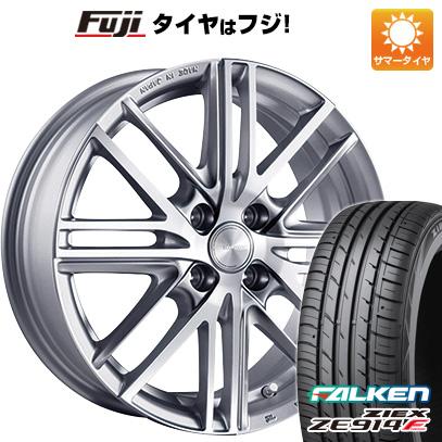 タイヤはフジ 送料無料 BRIDGESTONE ブリヂストン エコフォルム CRS/161 4.5J 4.50-15 FALKEN ジークス ZE914F 165/55R15 15インチ サマータイヤ ホイール4本セット