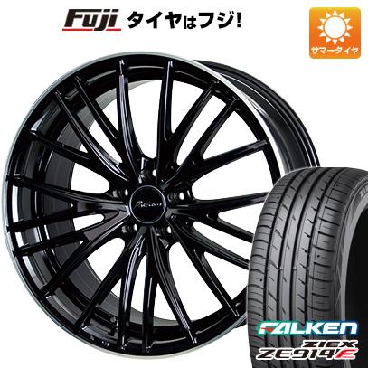 タイヤはフジ 送料無料 HOT STUFF ホットスタッフ プレシャス アストM1 6.5J 6.50-17 FALKEN ジークス ZE914F 205/50R17 17インチ サマータイヤ ホイール4本セット