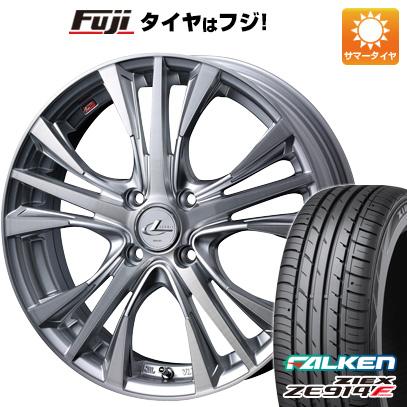 タイヤはフジ 送料無料 WEDS ウェッズ レオニス UC 5.5J 5.50-15 FALKEN ジークス ZE914F 185/60R15 15インチ サマータイヤ ホイール4本セット