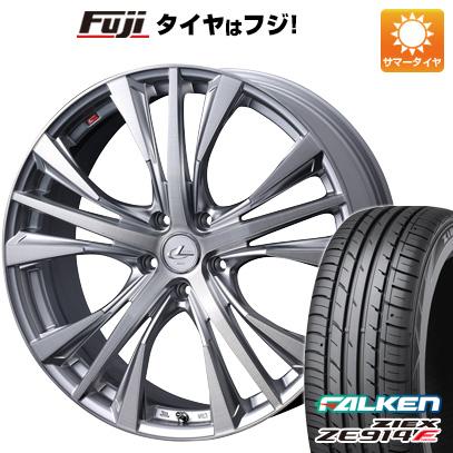 タイヤはフジ 送料無料 WEDS ウェッズ レオニス UC 7J 7.00-17 FALKEN ジークス ZE914F 205/45R17 17インチ サマータイヤ ホイール4本セット