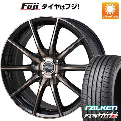 タイヤはフジ 送料無料 MONZA モンツァ Rバージョンスプリント 5.5J 5.50-15 FALKEN ジークス ZE914F 185/60R15 15インチ サマータイヤ ホイール4本セット