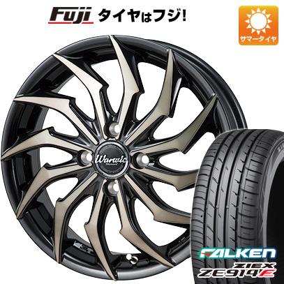 タイヤはフジ 送料無料 MONZA モンツァ ワーウィック ハーベル 5.5J 5.50-15 FALKEN ジークス ZE914F 175/65R15 15インチ サマータイヤ ホイール4本セット