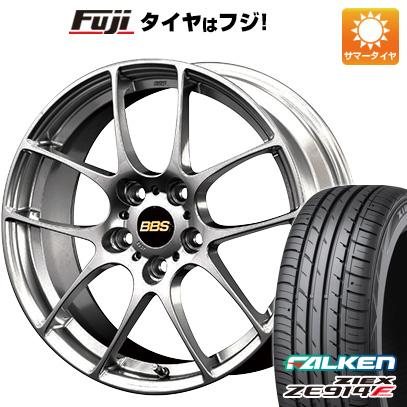 タイヤはフジ 送料無料 BBS JAPAN BBS RF 7.5J 7.50-17 FALKEN ジークス ZE914F 225/65R17 17インチ サマータイヤ ホイール4本セット